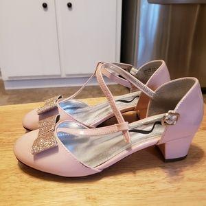 Nina little girls' pink Myra dress sandals